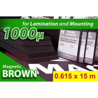 Magnet Marrone Opaco 1000my...