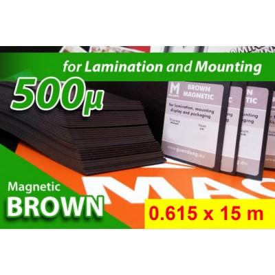 Magnet Marrone Opaco 500my...