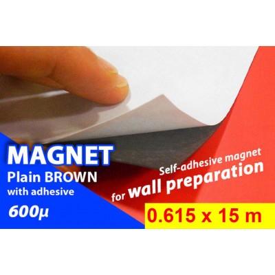 Magnet Plain Marrone con...