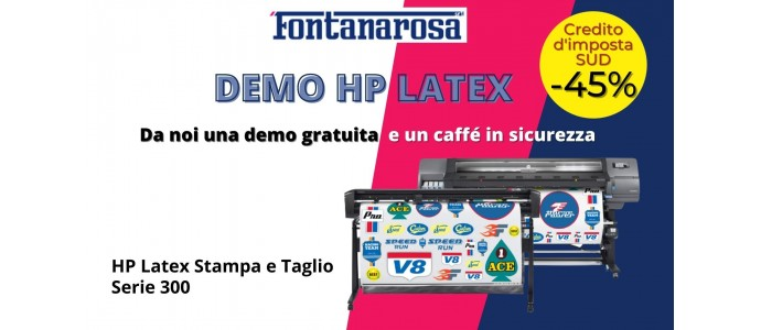 Demo HP Latex a Napoli da Fontanarosa srl